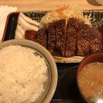 阪急三番街店で食べる名古屋名物みそかつ 矢場とん