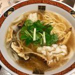 「YAMACHAN」期間限定 鱧・松茸の中華そば